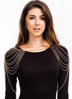 Over The Shoulders Body Chain Set