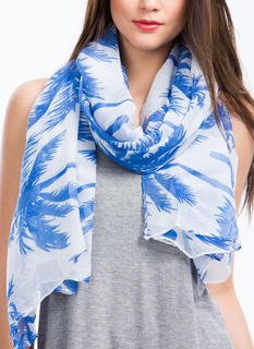 Tropical Palm Tree Scarf