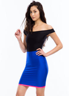 Triple Threat Body Con Dress