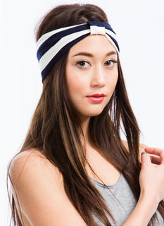 Nautical Striped Headband