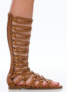 Gams For Days Gladiator Sandals