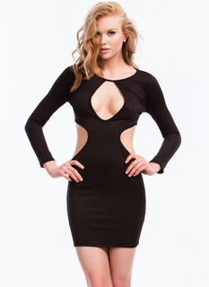 Hole New World Cut-Out Dress