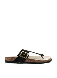 2 The T Faux Suede Sandals