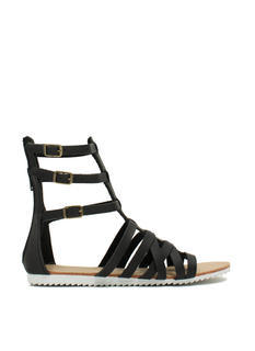 Hot Cross Straps Sandals