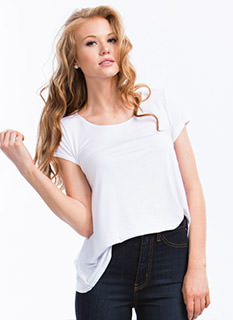 Ace Of Basics Flared Tee