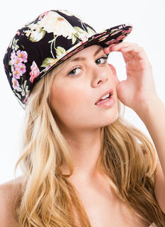 Bouquet Of Flowers Snapback