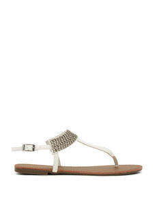 Jewel Me Twice T-Strap Sandals