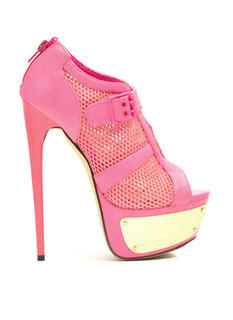 Sport Of Queens Strappy Mesh Platforms