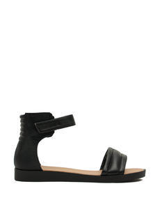Rock N Quilted Faux Leather Sandals