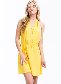 Silky Halter Dress