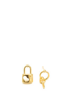 Lock N Key Earrings