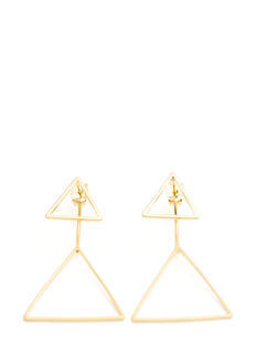 Doubled Triangle Earrings