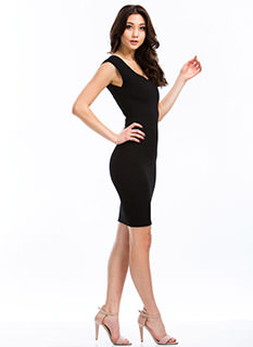 Totally Audrey Cut-Out Dress