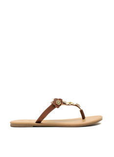 Garden Girl Flower Thong Sandals