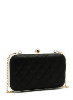 Monochromatic Quilted Clutch