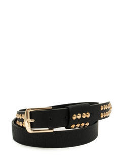 Rocker Studded Faux Leather Belt