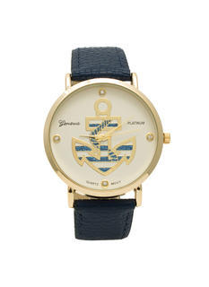 Nautical Stripes Anchor Watch
