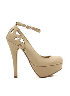 Cut-Out For This Ankle Strap Heels