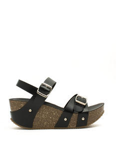 One Two Double Buckle Wedges