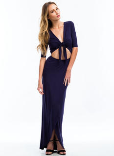 Knotty Girl Maxi Dress