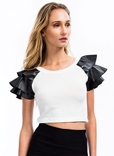 Soft Armor Cropped Top