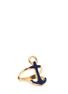 Enameled Anchor Cut-Out Ring