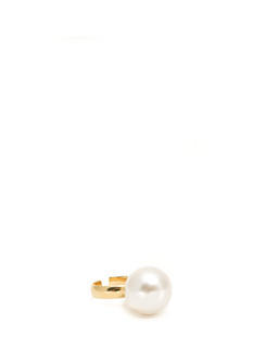 Oversized Faux Pearl Ring
