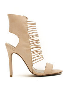What's Strap-pening Stiletto Heels