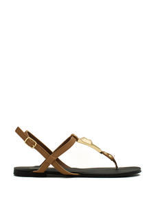 Slip N Slither T-Strap Sandals