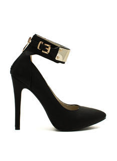 Plating For Keeps Ankle Cuff Heels