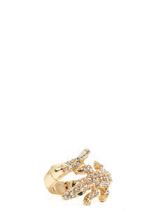 Jeweled Reptile Stretchy Ring