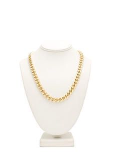 Simple Curb Link Chain Necklace