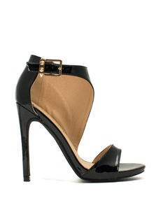 Panel Shield Single-Sole Heels