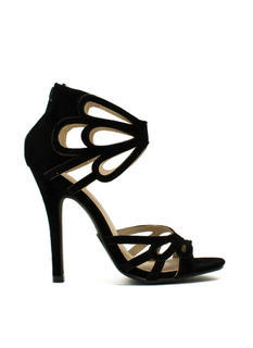 Tear It Up Cut-Out Heels
