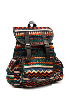 Multicolored Felt Backpack