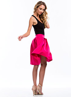 Give Me An A-Line Pleated Skirt