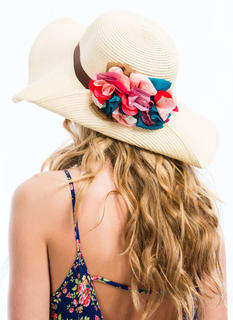 Floral Bouquet Sun Hat