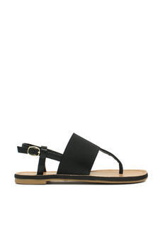 Stretch The Rules Elastic Sandals
