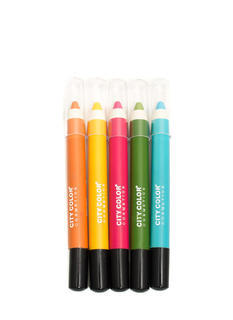 City Color Shadow Pencils Set