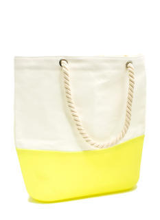 Silicone N Canvas Beach Tote