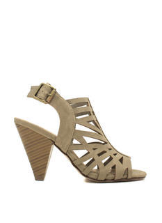 Laser Cut-Out Tapered Heels