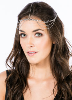 Strands Of Discs Head Chain