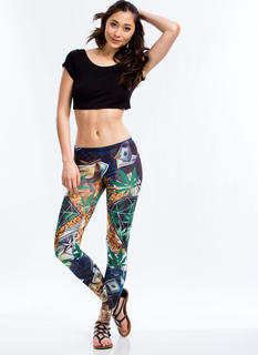 Money 'N Greens Leggings