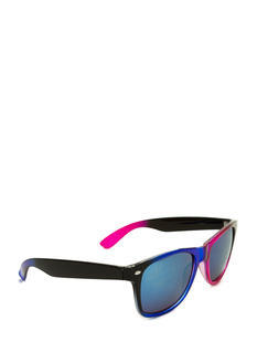 Multicolor Reflective Sunglasses