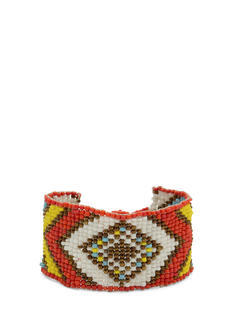 Beaded Tribal-Inspired Bracelet