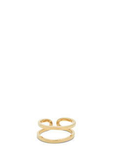 Shiny Adjustable Cut-Out Midi Ring