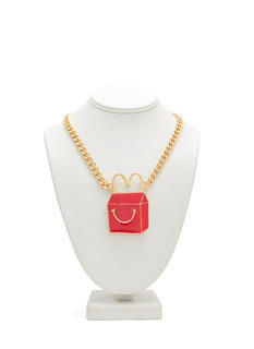 Happy Kids' Meal Carton Necklace