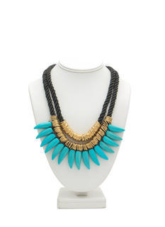 Rings 'N Stones Layered Necklace