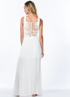 Backbone Braided Shredded Ladder Maxi
