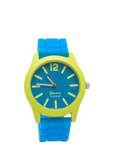 Two-Tone Silicone Watch